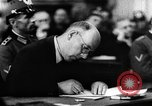 Image of Josef Wirmer on trial in July 20 plot against Hitler Germany, 1944, second 54 stock footage video 65675053508