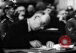 Image of Josef Wirmer on trial in July 20 plot against Hitler Germany, 1944, second 55 stock footage video 65675053508