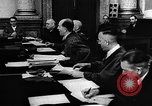 Image of Josef Wirmer on trial in July 20 plot against Hitler Germany, 1944, second 56 stock footage video 65675053508