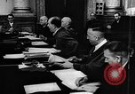 Image of Josef Wirmer on trial in July 20 plot against Hitler Germany, 1944, second 57 stock footage video 65675053508