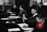 Image of Josef Wirmer on trial in July 20 plot against Hitler Germany, 1944, second 58 stock footage video 65675053508