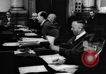 Image of Josef Wirmer on trial in July 20 plot against Hitler Germany, 1944, second 59 stock footage video 65675053508