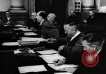 Image of Josef Wirmer on trial in July 20 plot against Hitler Germany, 1944, second 60 stock footage video 65675053508