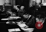 Image of Josef Wirmer on trial in July 20 plot against Hitler Germany, 1944, second 61 stock footage video 65675053508