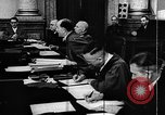 Image of Josef Wirmer on trial in July 20 plot against Hitler Germany, 1944, second 62 stock footage video 65675053508