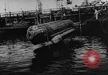 Image of Molch and Biber miniature German submarines Atlantic Ocean, 1944, second 26 stock footage video 65675053512