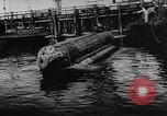 Image of Molch and Biber miniature German submarines Atlantic Ocean, 1944, second 27 stock footage video 65675053512