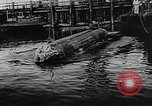 Image of Molch and Biber miniature German submarines Atlantic Ocean, 1944, second 28 stock footage video 65675053512