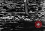 Image of Molch and Biber miniature German submarines Atlantic Ocean, 1944, second 61 stock footage video 65675053512