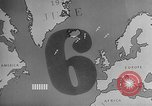 Image of Army Transport System Atlantic Ocean, 1943, second 60 stock footage video 65675053520