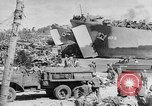 Image of amphibious invasion Pacific Theater, 1944, second 12 stock footage video 65675053522