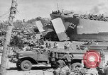 Image of amphibious invasion Pacific Theater, 1944, second 13 stock footage video 65675053522