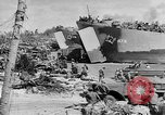 Image of amphibious invasion Pacific Theater, 1944, second 15 stock footage video 65675053522