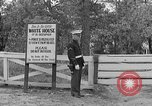 Image of President Roosevelt arriving at the Little White House Georgia United States USA, 1935, second 22 stock footage video 65675053527