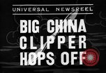 Image of China Clipper Alameda California USA, 1935, second 2 stock footage video 65675053529