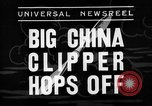 Image of China Clipper Alameda California USA, 1935, second 6 stock footage video 65675053529