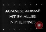 Image of Allied aircraft Puerto Princesa Island Philippines, 1945, second 2 stock footage video 65675053543