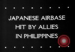 Image of Allied aircraft Puerto Princesa Island Philippines, 1945, second 6 stock footage video 65675053543