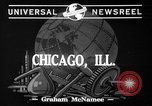Image of synthetic and plastic Chicago Illinois USA, 1941, second 2 stock footage video 65675053556