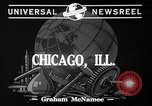 Image of synthetic and plastic Chicago Illinois USA, 1941, second 3 stock footage video 65675053556
