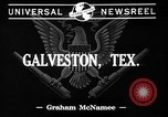 Image of Observation aircraft Galveston Texas USA, 1941, second 3 stock footage video 65675053563