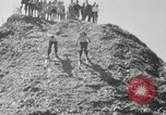 Image of hills of sawdust Portland Oregon USA, 1941, second 30 stock footage video 65675053569