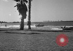 Image of water skiing Miami Florida USA, 1942, second 5 stock footage video 65675053585
