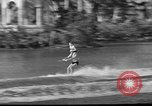Image of water skiing Miami Florida USA, 1942, second 22 stock footage video 65675053585