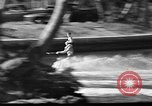 Image of water skiing Miami Florida USA, 1942, second 26 stock footage video 65675053585