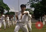 Image of karate class South Vietnam, 1967, second 20 stock footage video 65675053590