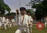Image of karate class South Vietnam, 1967, second 21 stock footage video 65675053590