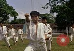 Image of karate class South Vietnam, 1967, second 22 stock footage video 65675053590