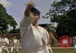 Image of karate class South Vietnam, 1967, second 25 stock footage video 65675053590