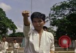 Image of karate class South Vietnam, 1967, second 26 stock footage video 65675053590