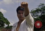 Image of karate class South Vietnam, 1967, second 28 stock footage video 65675053590