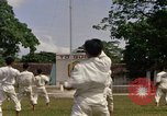 Image of karate class South Vietnam, 1967, second 39 stock footage video 65675053590