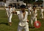 Image of karate class South Vietnam, 1967, second 40 stock footage video 65675053590
