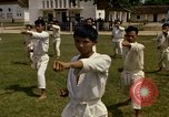 Image of karate class South Vietnam, 1967, second 41 stock footage video 65675053590