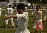 Image of karate class South Vietnam, 1967, second 42 stock footage video 65675053590
