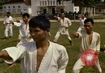 Image of karate class South Vietnam, 1967, second 43 stock footage video 65675053590