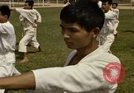 Image of karate class South Vietnam, 1967, second 46 stock footage video 65675053590