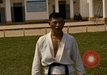 Image of karate class South Vietnam, 1967, second 58 stock footage video 65675053590