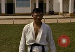Image of karate class South Vietnam, 1967, second 59 stock footage video 65675053590