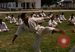 Image of karate class South Vietnam, 1967, second 7 stock footage video 65675053591