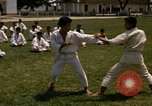 Image of karate class South Vietnam, 1967, second 10 stock footage video 65675053591