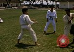 Image of karate class South Vietnam, 1967, second 13 stock footage video 65675053591