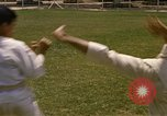 Image of karate class South Vietnam, 1967, second 17 stock footage video 65675053591
