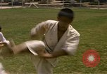 Image of karate class South Vietnam, 1967, second 18 stock footage video 65675053591