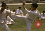 Image of karate class South Vietnam, 1967, second 25 stock footage video 65675053591