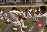 Image of karate class South Vietnam, 1967, second 26 stock footage video 65675053591
